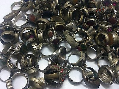 20 pcs Ring ANTIQUE Afghan Kuchi Banjara Ethnic Old Antique Nomad Wholesale
