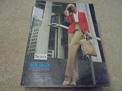 Vintage Sears 1982 Spring and Summer Catalog  Cheryl Tiegs