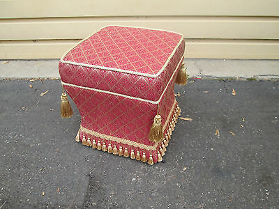 56950  Decorator Foot Stool Bench ottoman