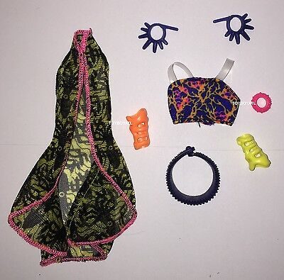 Monster High Great Scarrier Reef Kala Mer'ri Doll Outfit Clothes Accessories NEW