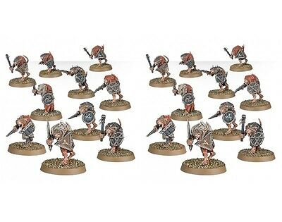 Skaven CLANRATS ARMED WITH CLOSE COMBAT WEAPONS Spire of Dawn - Age of Sigmar