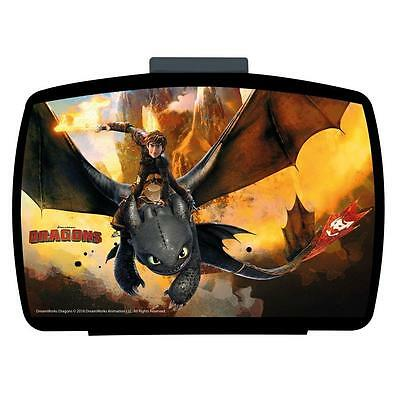 Dragons - Snack Container Sandwich Box Lunchbox 16 x 11 x 6 cm