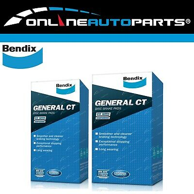 Front + Rear Disc Brake Pads Commodore VT VX VU VY VZ Bendix Set 9/97-06 Holden