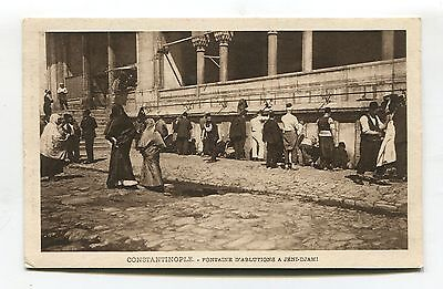 Constantinople - Fontaine d'Ablutions a Jeni-Djami - old Turkey postcard