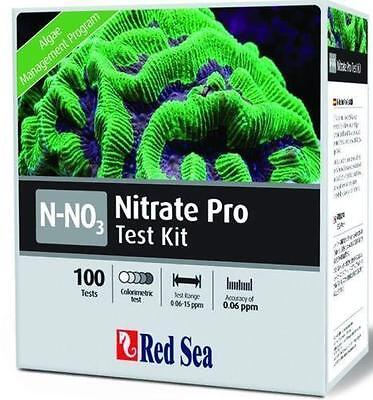 Red Sea Nitrate PRO Comparator Test Kit - 100 N-NO3 Tests - Marine Aquarium Care