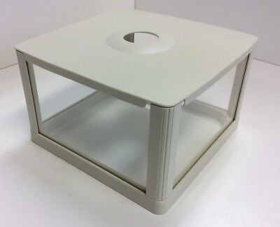"""Draft Shield Cover For Lab Scale Balance 6"""" x 6"""" x 3.750"""" Dimensions Plastic"""