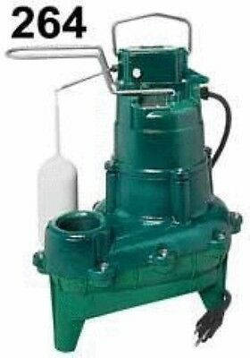 "Zoeller 4/10 HP 2"" Auto Submersible Sewage Pump 115V Vertical, M264 (SPG019939)"