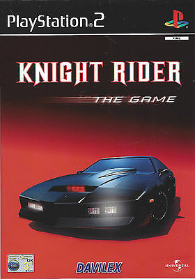KNIGHT RIDER THE GAME for Playstation 2 PS2 - with box & manual - PAL