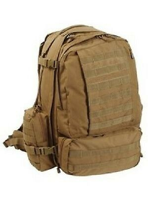 US 3 DAY USMC PATROL MOLLE ARMY ASSAULT Outdoor RUCKSACK pack Coyote