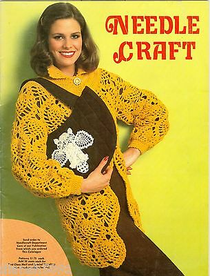 Vintage Needle Craft Catalog With Patterns 1960's or 1970's