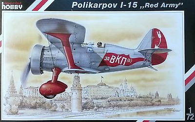 "SPECIAL HOBBY 72085 Polikarpov I-15 ""Red Army"" in 1:72"