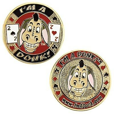 I'm a Donk! Poker Card Cover Protector