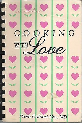 *prince Frederick Md Vintage *cooking With Love Cook Book *council For Homeless