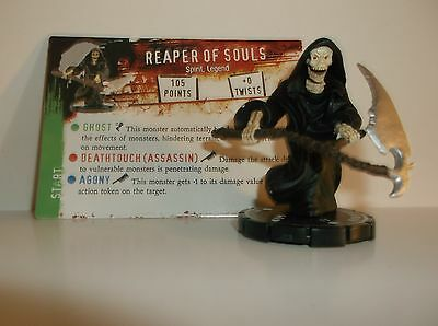 HORRORCLIX  Reaper of Souls #090 Rare W/CARDS Base Set