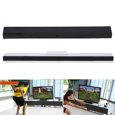 Wireless Infrared IR Signal Ray Sensor Bar Receiver For Nintendo Wii Controller