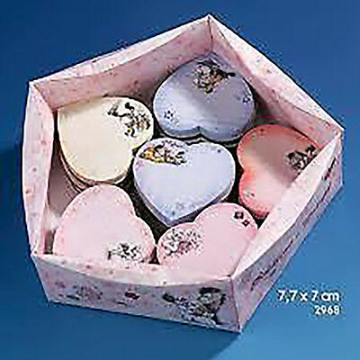 DIDDLINA diddl 6 Memo Notes forma CUORE 8x7cm RARO INTROVABILE
