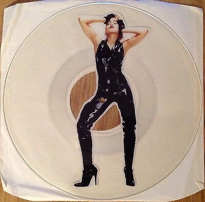 Madonna  Crazy For You   Rare 1991 Uncut Picture Disc   N.Mint