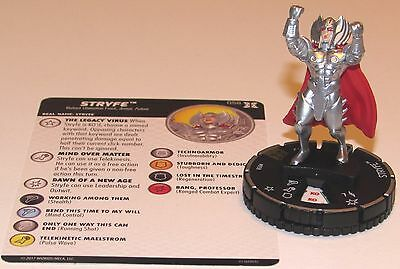 STRYFE 058 Deadpool and X-Force Marvel HeroClix Super Rare