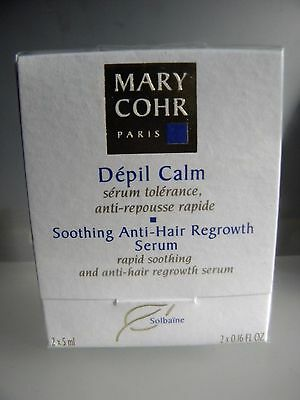 Mary Cohr Depil Calm Serum Tolerance Anti Repousse Rapide Soothing Anti Hair