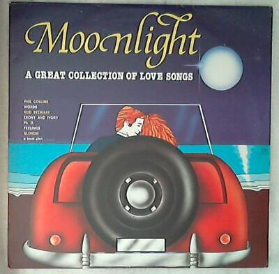 44060 Lp 33 giri 12'' - Various - Moonlight A Great Collection Of Love Song Tl 1