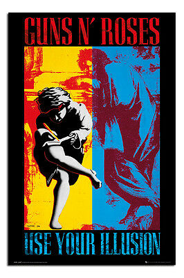 Guns & Roses Use Your Illusion Poster New - Maxi Size 36 x 24 Inch