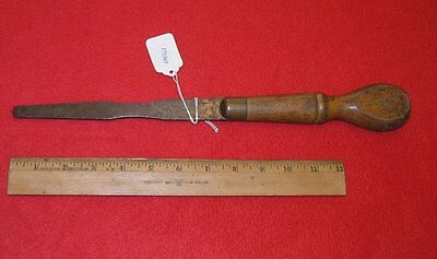 Stanley Rule & Level Co. 1871 Patent Screwdriver 14 11/16 Inches Long