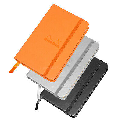 Rhodia Hardback Dot Book A6 Architects Graphic Art Grid Note Pad Webnotebook