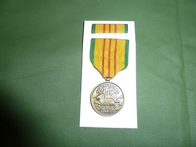 Original Vietnam Service Medal Boxed And Dated 69