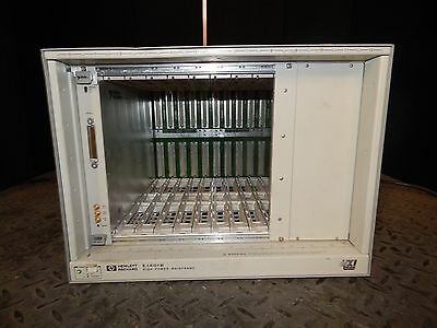 Hp Hewlett Packard Model E1401B Hp 75000 Series C Vxi High Power Chassis (#1656)