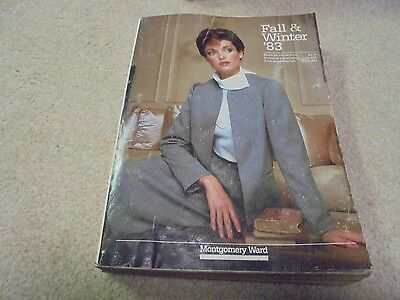 Vintage 1983 Montgomery Ward Fall and Winter Catalog