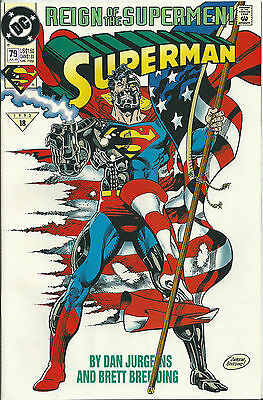 Superman #79 (Dc) 2Nd Series - 1987