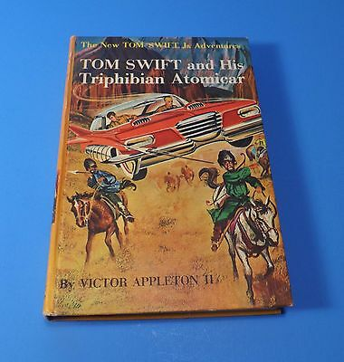 1St Hb 1962 #19 Tom Swift And His Triphibian Atomicar-Victor Appleton 2