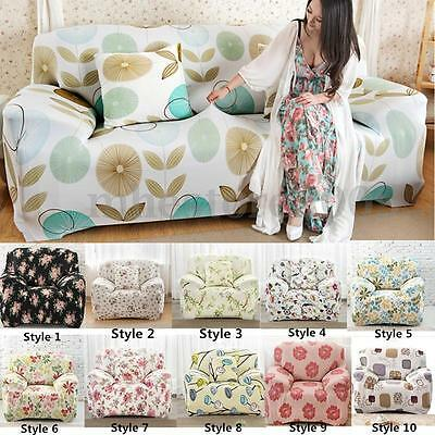 Elastic Sofa Cover 1 2 3 Seat Stretch Slipcover Couch Chair Furniture Protector