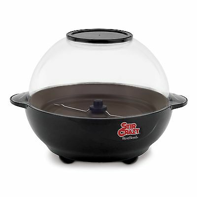 West Bend 82306X Stir Crazy 6-Quart Electric Popcorn PopperBlack Popcorn Popper