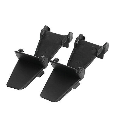 4Pcs Nylon Black Auto Tyre Tire Changer Rim Clamp Jaw Cover Protector Guards