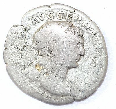 AUTHENTIC TRAJAN ROMAN COIN, AR Silver Denarius, Rv. Optimo Principi - A868