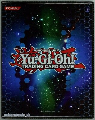 Official Konami Duelist Portfolio Folder A5/20 Pages/4 Pocket Album Holds 160 Ca