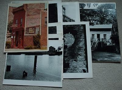 11 Large Original George Booth Signed Art Photographs of Detroit Area Buildings
