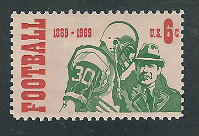 Scott  #1382... 6 Cent...Football....50 Stamps