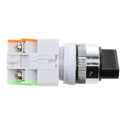 LAY37 Ui660V 2 Position Industrial Selector Rotary Switch 22mm