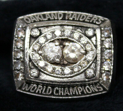 1980 Los Angeles Raiders Superbowl Ring Owned By Arthur Whittington Replica