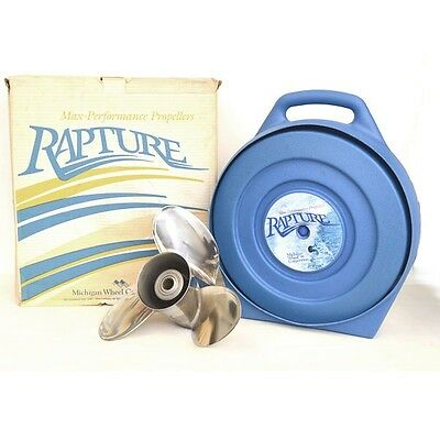 Michigan Wheel Rapture Boat Propeller 013064 | OMC RH 14 1/4 x 15P SS
