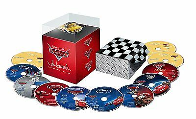 Cars - Director's Edition Box Set [BR3D + Blu-ray + DVD + Digital, 11-Disc] NEW