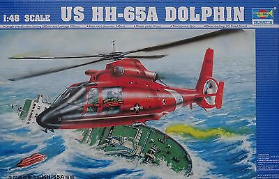 TRUMPETER® 02801 US Coast Guard HH-65A Dolphin in 1:48