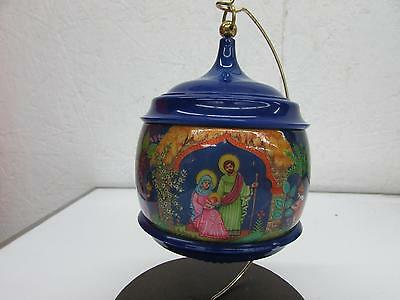 1983 Hallmark Musical Nativity Christmas Ornament Hard to Find
