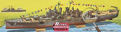 USS Springfield Cleveland-Class Light Cruiser 1/500 scale skill 4 Revell kit#060