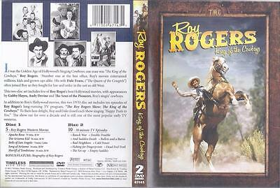 Dvd  2-Disc Roy Rogers King Of The Cowboys....10 Hours Long
