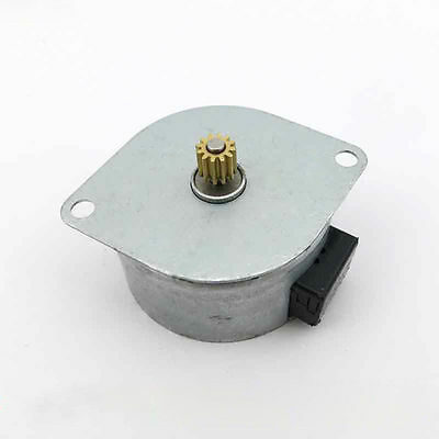 42mm Step Stepper Stepping Motor 2-Phase 6-Wire 5V/12V with Copper Gear,Printer