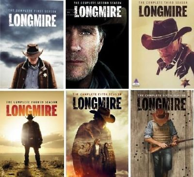 Longmire:  Complete Sereis Seasons 1-5    DVD Bundle