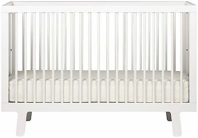 Oeuf Sparrow Crib White Boys and Girls Baby